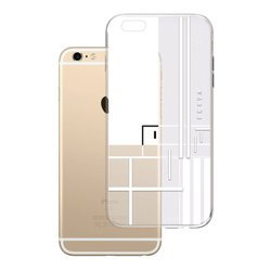 Apple iPhone 6 Plus/6s Plus Ferya Slim CASE LINE White