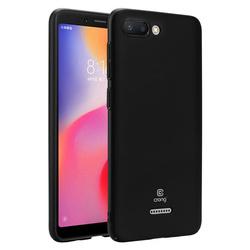 Crong Smooth Skin - Etui Xiaomi Redmi 6 (czarny)