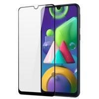Dux Ducis 9D Tempered Glass wytrzymałe szkło hartowane 9H na cały ekran z ramką Samsung Galaxy M30s czarny (case friendly)