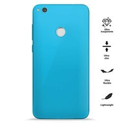 PURO 0.3 Nude - Etui Huawei P8 Lite (2017) / Honor 8 Lite (Fluo Blue)