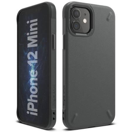 Ringke Onyx wytrzymałe etui pokrowiec iPhone 12 mini szary (OXAP0026)